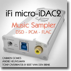 iFi micro iDAC2 Music Sampler